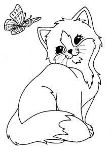 Colorat Pisica Fise De Colorat Pisici Planse De Colorat Pisica Desene