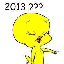 2013,anul 2013,tweety,despre 2013